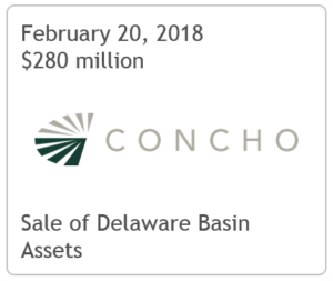 TPH Advises Concho Resources On Delaware Basin Asset Sale